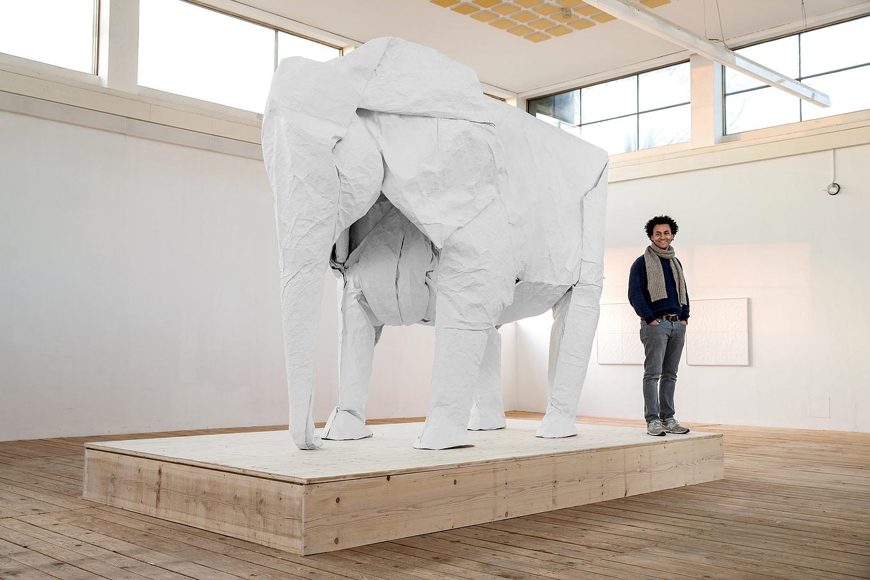 life-size-origami-elephant-by-sipho-mabona-gessato-1