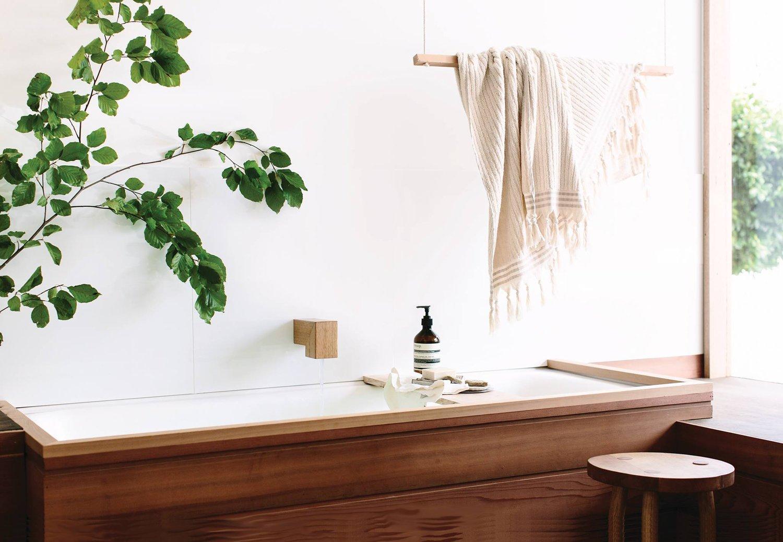 Natural Bathroom Decor by Wood Melbourne - Gessato
