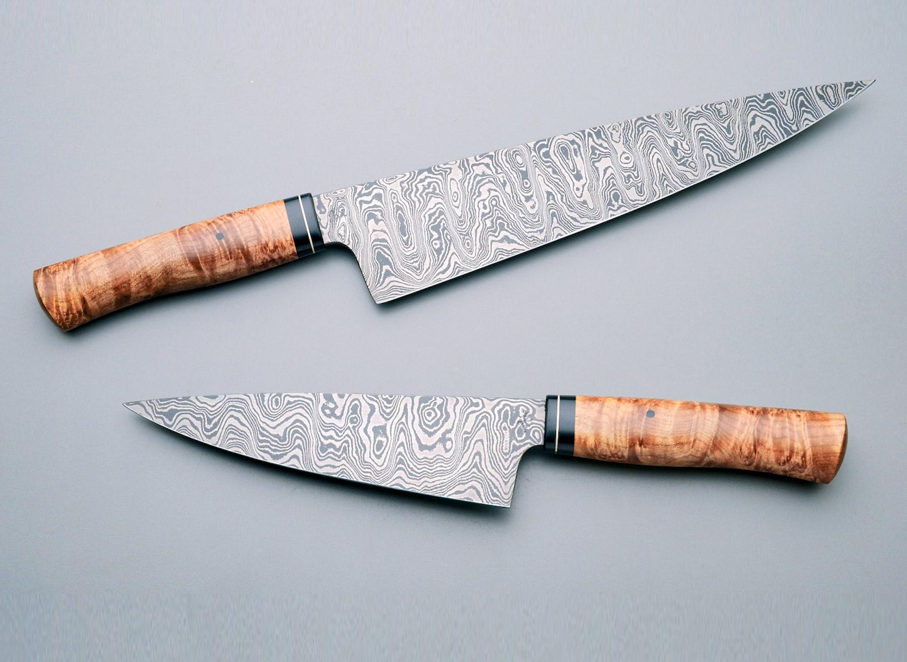 The Best Kitchen Knives Damascus Steel Edition Gessato
