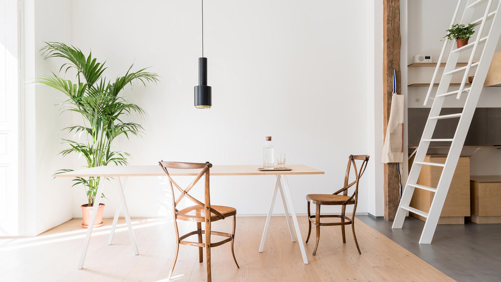 A Minimalist Apartment In Madrid Gessato