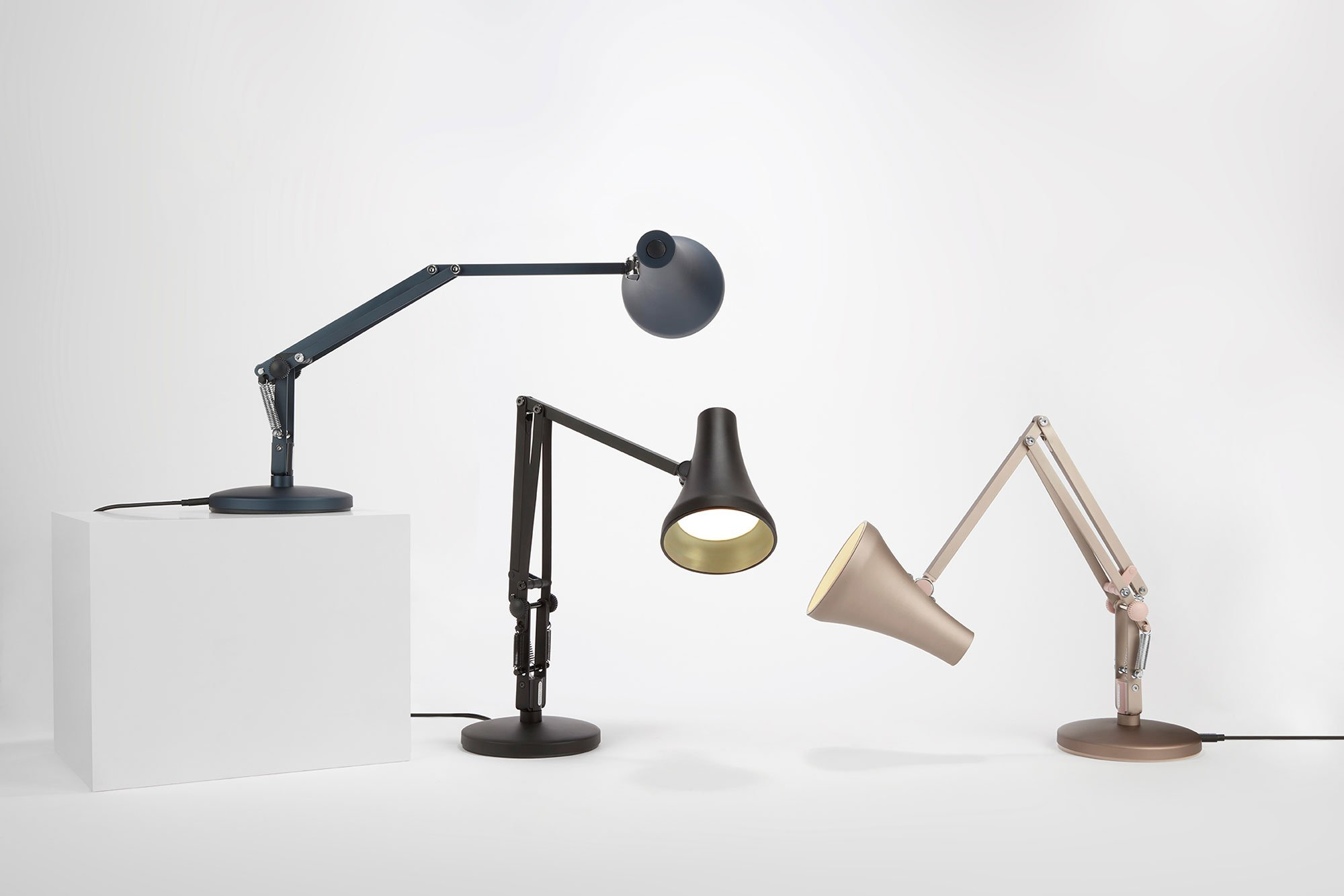 Introducing The Iconic Anglepoise Lighting Collection Gessato