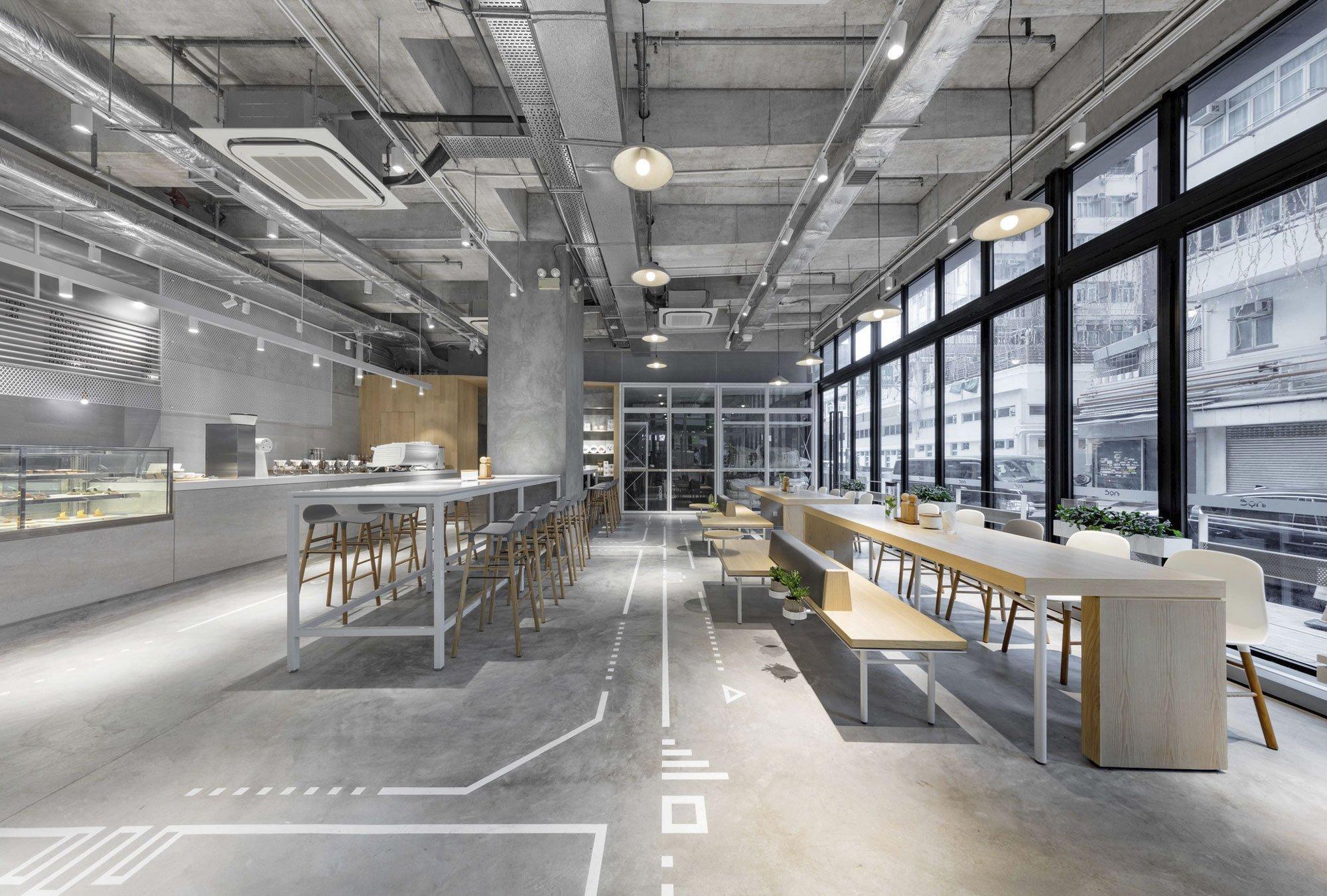 NOC Coffee Co. by Studio Adjective, coffee shop design
