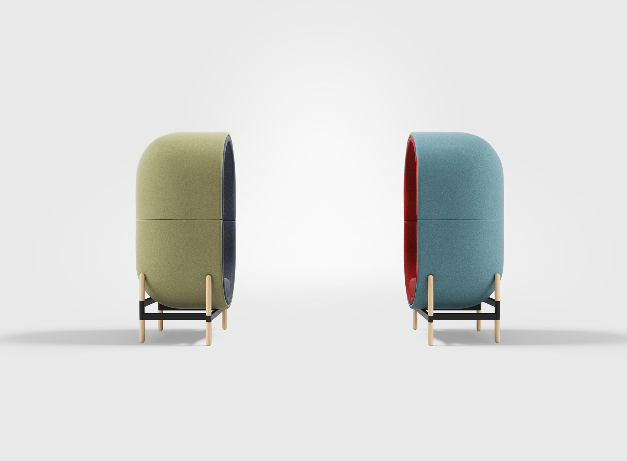 A Cocoon Chair Design From The Capsule Collection Gessato