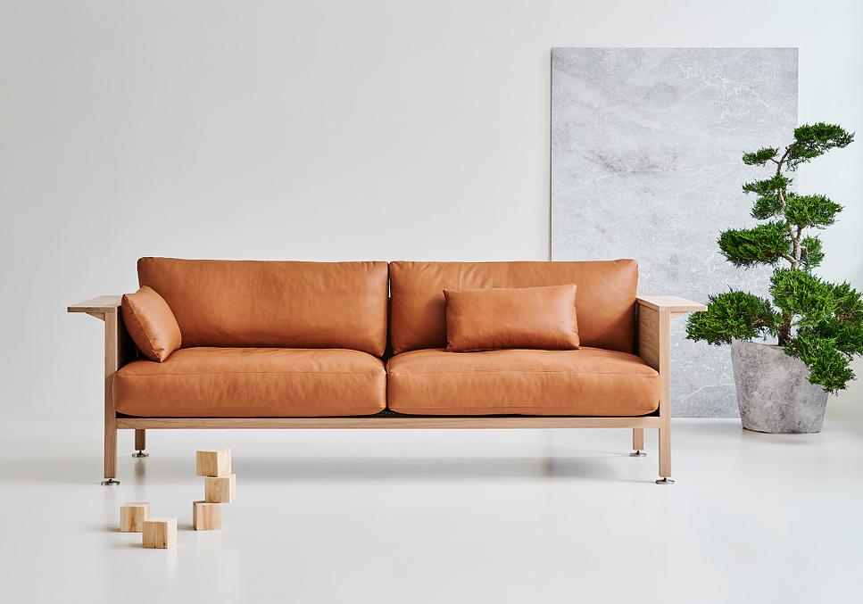 Ejemplo de los muebles de estilo nórdico
