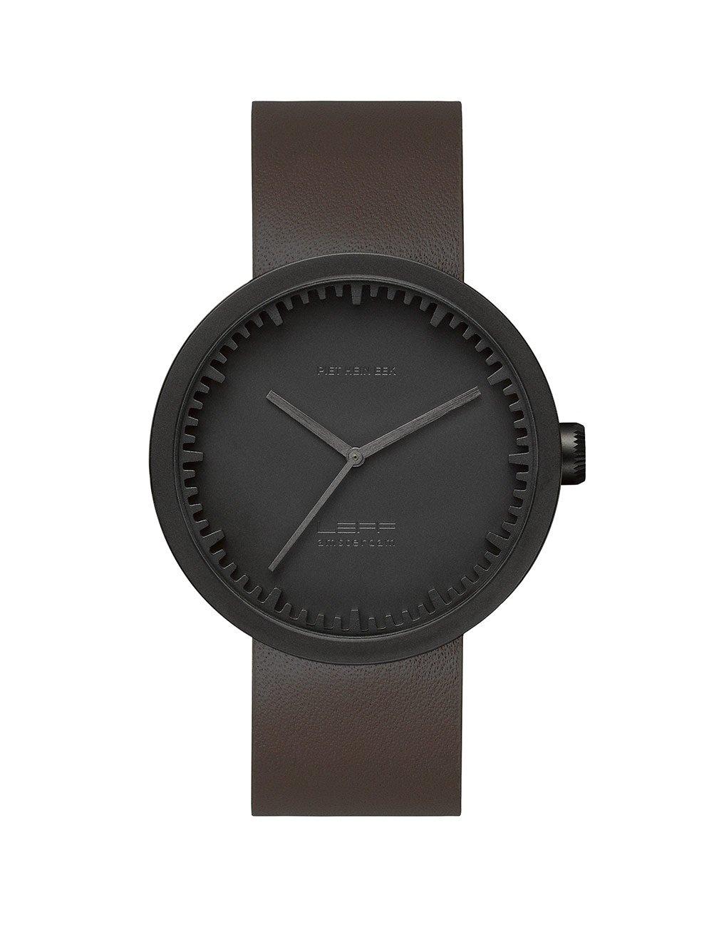 leff-amsterdam-tube-watch-d42-matt-black-1