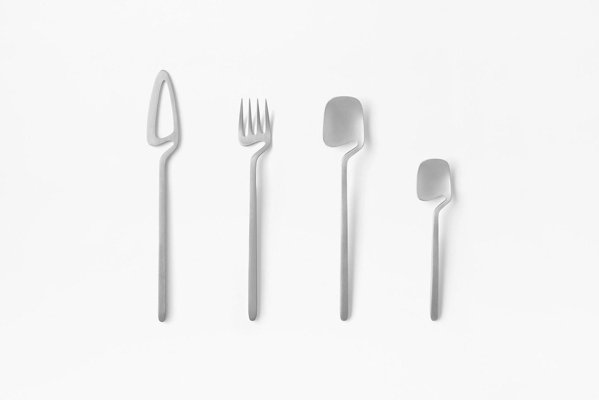 Quirky Minimalist Flatware By Nendo Gessato
